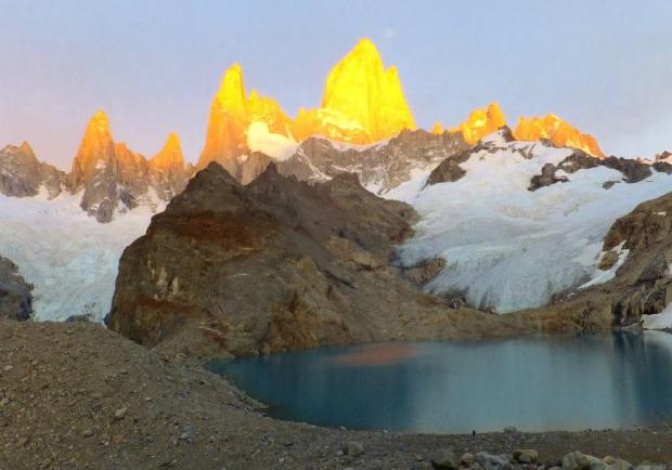 フィッツ・ロイ山(アルゼンチン)