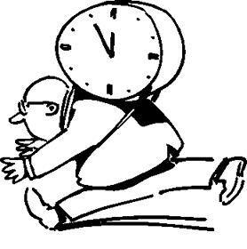 時間には余裕を持って!